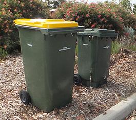 """オーストラリアでゴミ箱は""""bin""""。"""