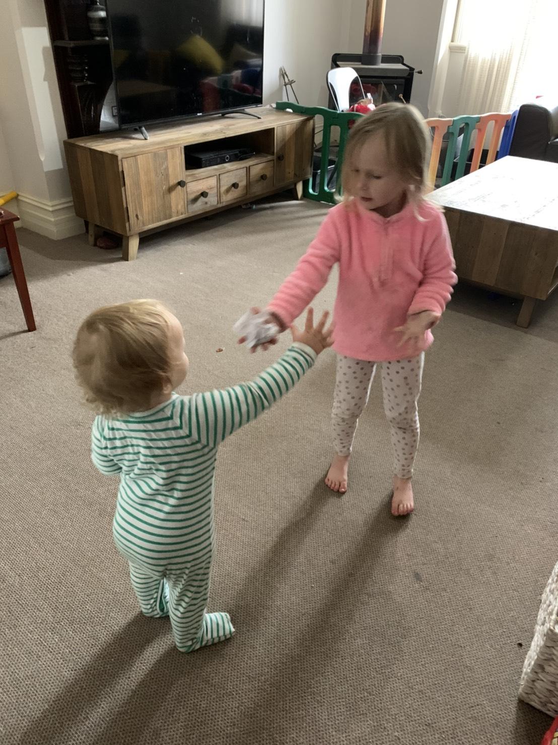 オーペアストレスがたまること、子供を叱る