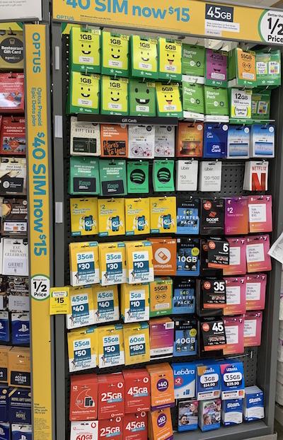 オーストラリア携帯代をお得に。格安SIM amaysim(アメイシム)$10引きクーポンあるよ