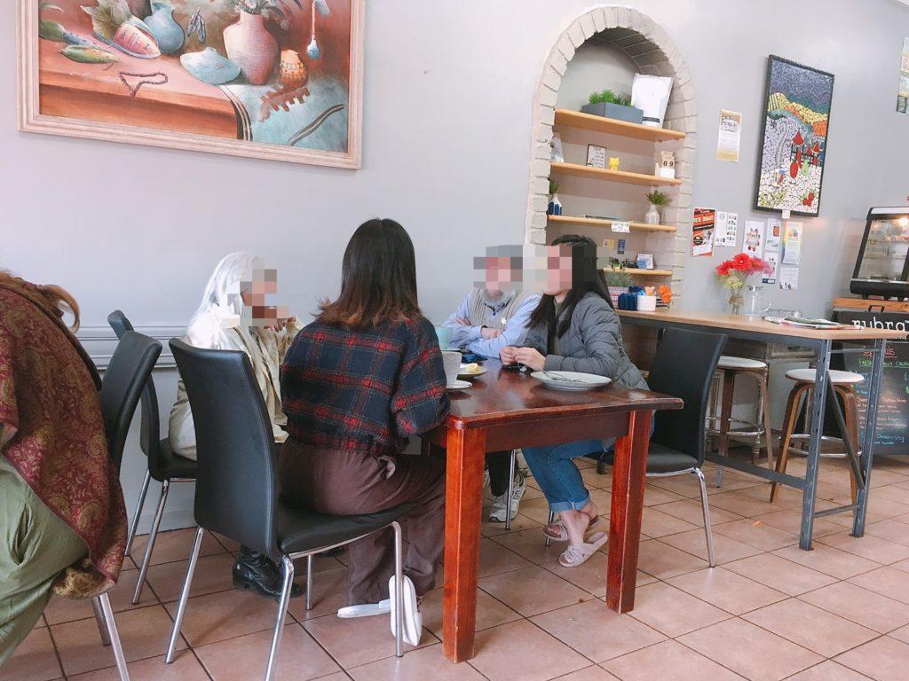 オーストラリアファームジョブ田舎のカフェで出会ったご夫婦