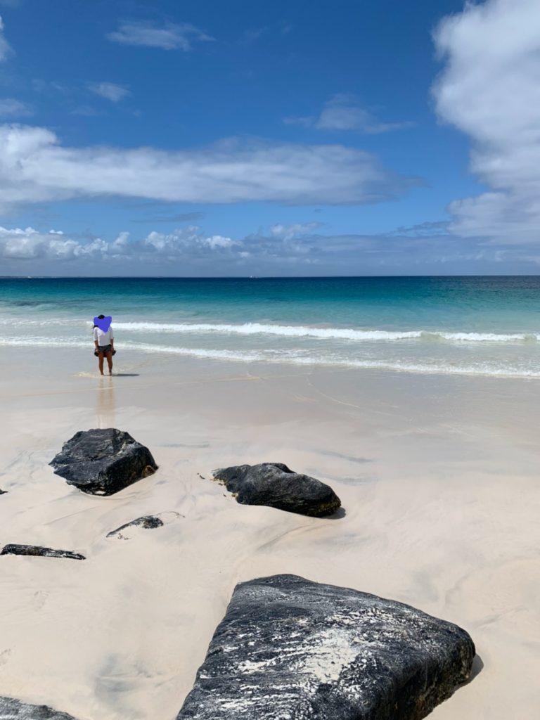 Augustaまでドライブ!WA州の海ってインド洋でどこも綺麗なのですが、ここも格別でした!水色!