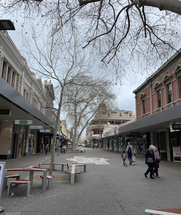 【10月6日新型コロナ】パース(オーストラリア)の街の様子と経済支援策 フリーマントル