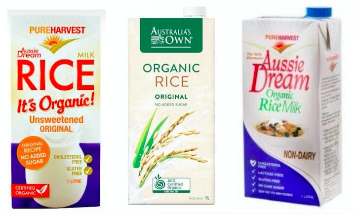 オーストラリアのビーガン:乳製品フリー植物性ミルクはどれを選べばいい?《バリスタ必見》 ライスミルク
