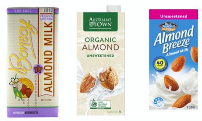 オーストラリアのビーガン:乳製品フリー植物性ミルクはどれを選べばいい?《バリスタ必見》 アーモンドミルク