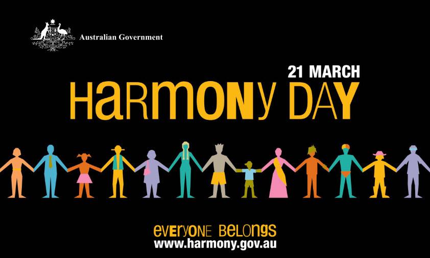 オーストラリアのハーモニーデーって何?人口の30%が移民の国ならではのお祝いです  ハーモニーデーは毎年3月21日です