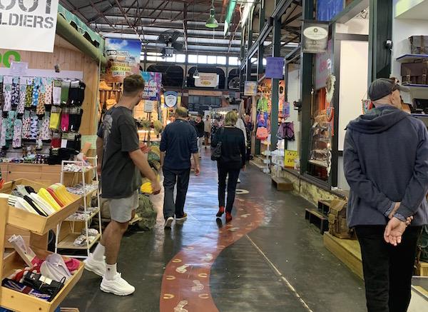 フリーマントルマーケット・コロナ禍の街の様子【西オーストラリア観光】